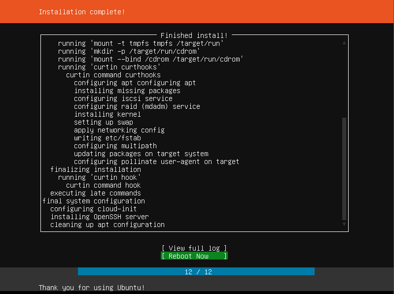 Installing Ubuntu