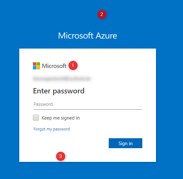 company branding microsoft Login Pages