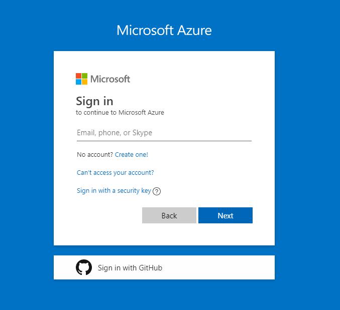corporate identity on Microsoft Loginpages - Azure Portal