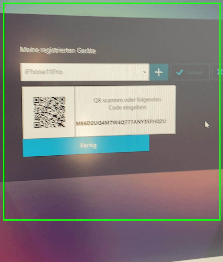 Mobile Device Barcode scan