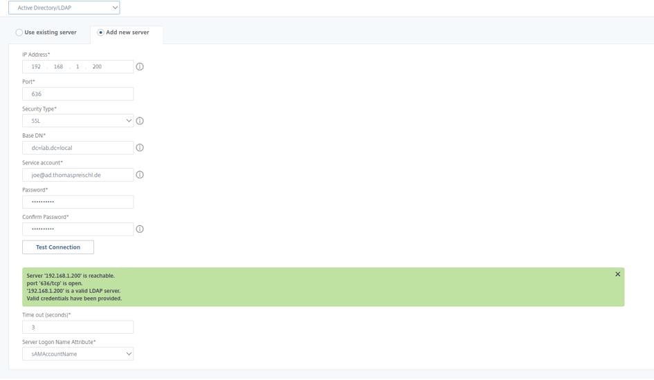 Citrix ADC as RDP Proxy - Config UG