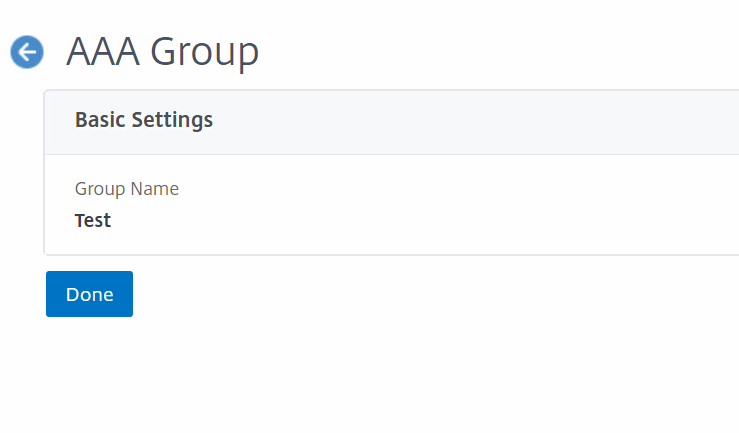 Citrix ADC as RDS Gateway - Create AAA Group